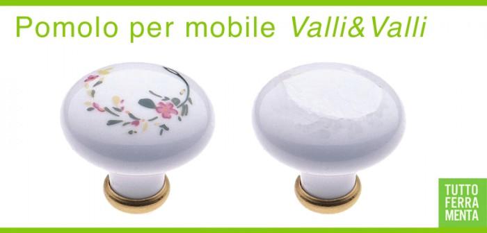 Pomolo per mobile stile classico porcellana pomoli mobili tuttoferramenta - Pomelli cucina ceramica ...